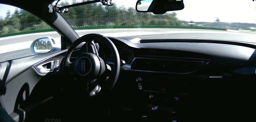 """Autonominis """"Audi RS7"""""""