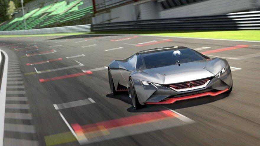"""Peugeot Vision Gran Turismo"""