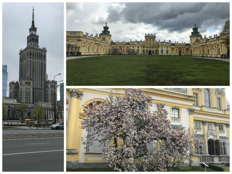 Kelionės po Varšuvą akimirka