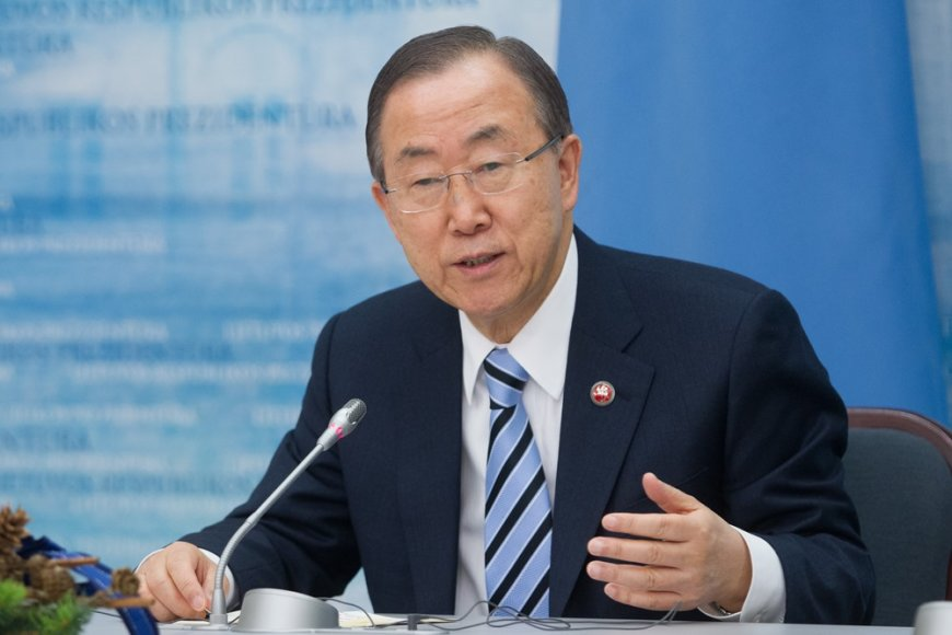 Ban Ki-moonas ir Dalia Grybauskaitė
