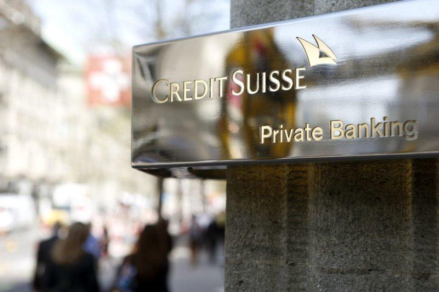 "Šveicarijos bankas ""Credit Suisse"""
