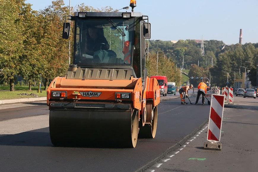 Kurios Kauno gatvės bus tvarkomos šįmet?
