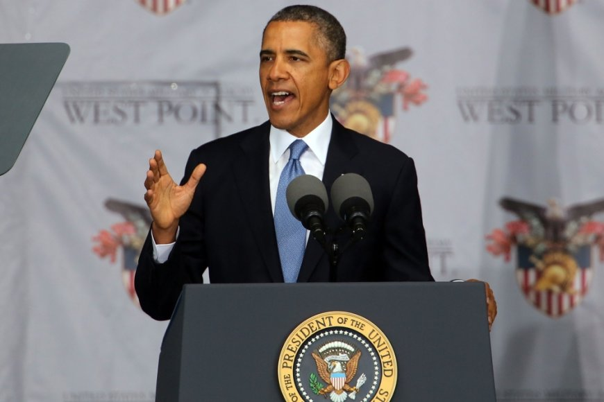 Barackas Obama Vest Pointe