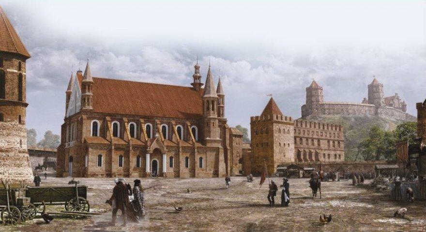Taip galėjo atrodyti Vilnius burmistro Luko Markovičiaus laikais XVI amžiuje