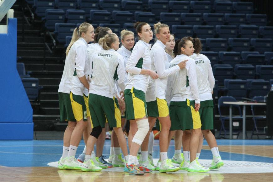 Lietuvos moterų krepšinio rintkinė