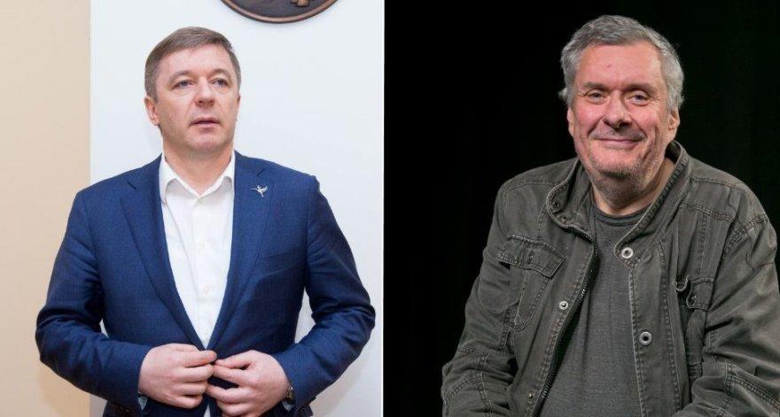 Ramūnas Karbauskis ir Haroldas Mackevičius