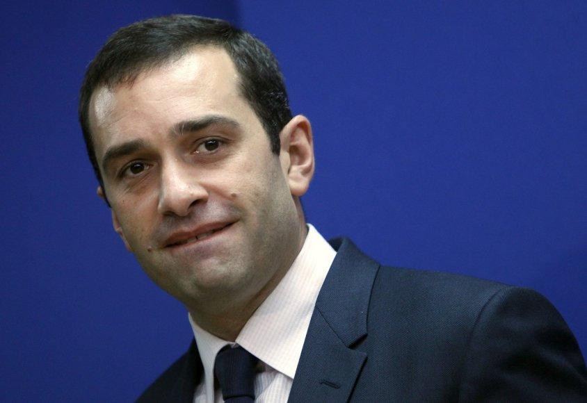 Gruzijos gynybos ministras Iraklis Alasanija