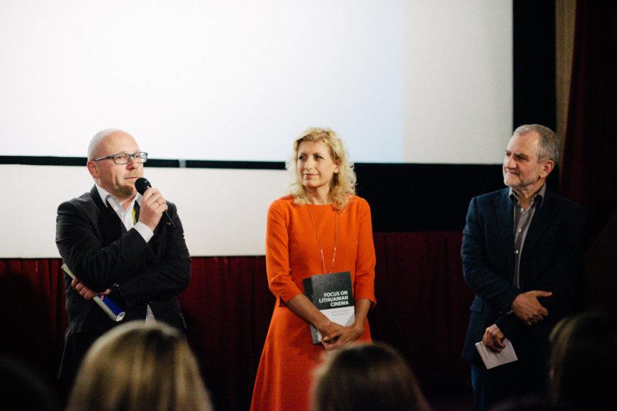 Krokuvos kino festivalyje įvyko lietuviško kino programos atidarymas