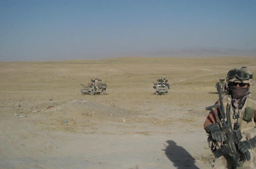 Lietuvos spec. pajėgų kariai Afganistane