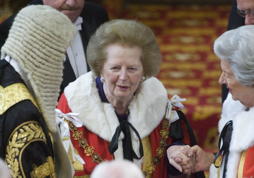 Margaret Thatcher 2010 metais