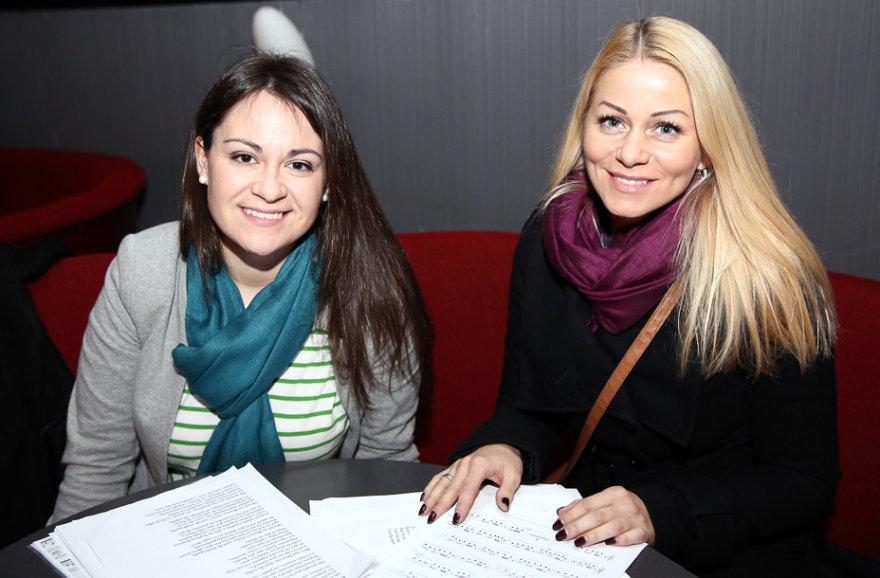 Evelina Sašenko ir Vaida Genytė
