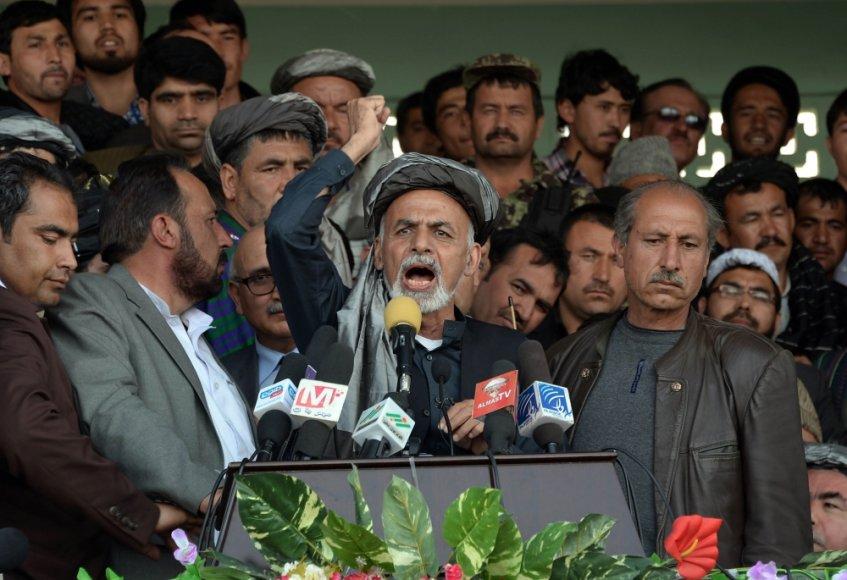 Ashrafas Ghani Ahmadzai