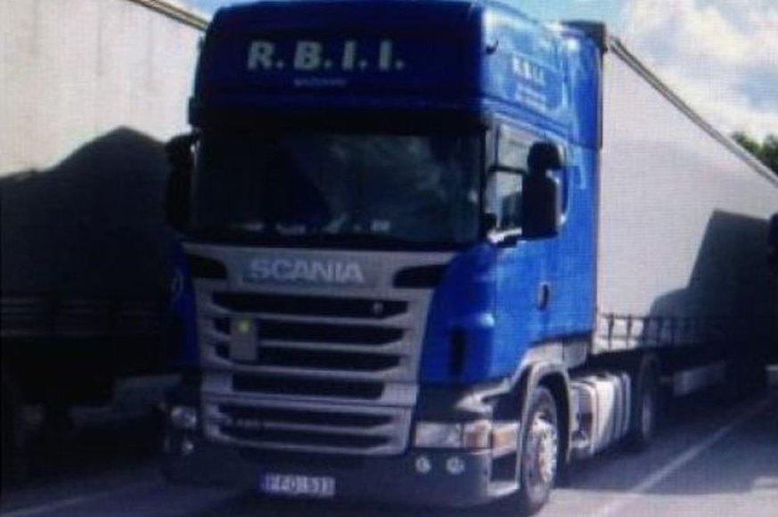 Belgijoje vilkiko, kuris registruotas Lietuvoje, kabinoje rastas negyvas vairuotojas.