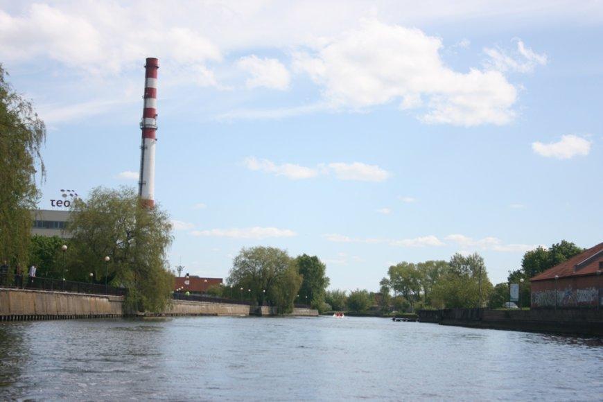 Vaizdas iš Danės upės