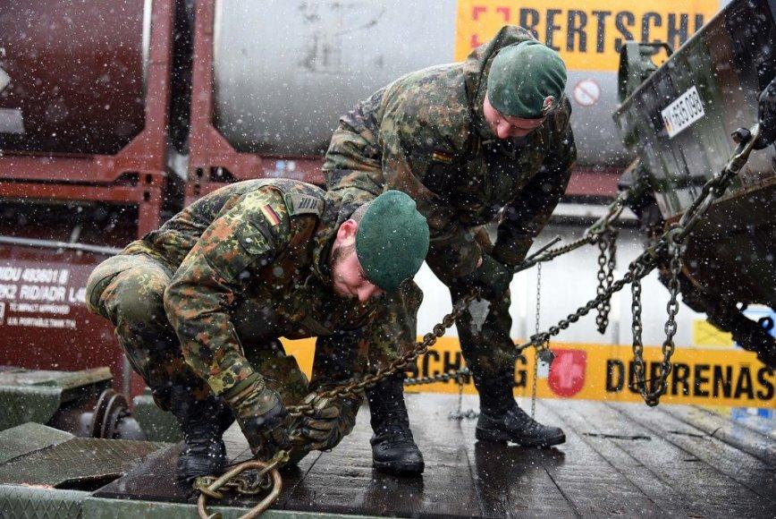 Vokietijos karinė technika Lietuvoje