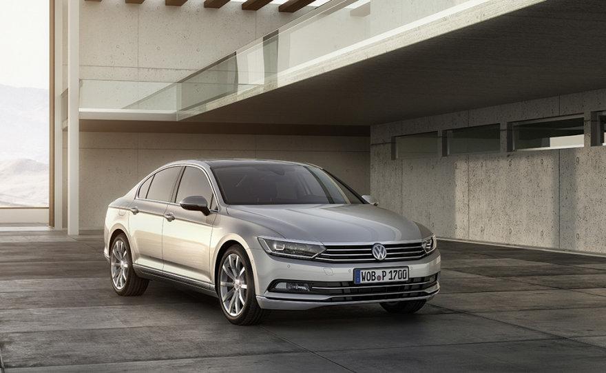 """Naujasis """"VW Passat"""""""