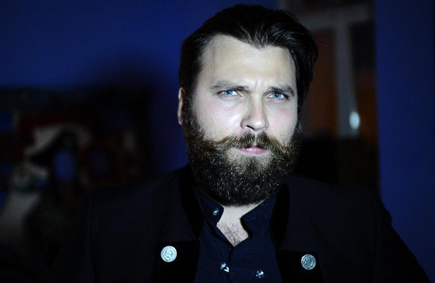 Barzdočių klubo prezidentas Valdas Samkus