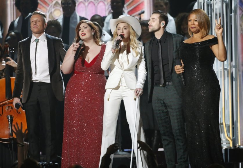 Macklemore'as, Mary Lambert, Madonna, Ryanas Lewisas ir Queen Latifah
