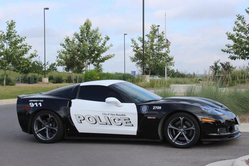 """Teksaso policijos """"Chevrolet Corvette Z06"""""""