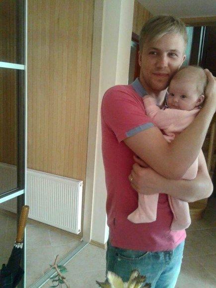Paulius Bagdanavičius su dukra Paulina