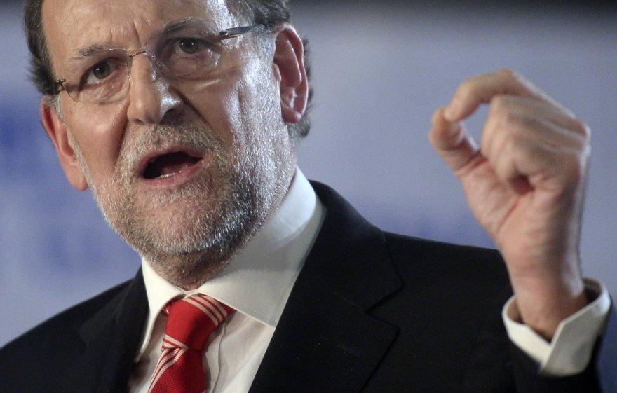 Ispanijos premjeras Mariano Rajoy