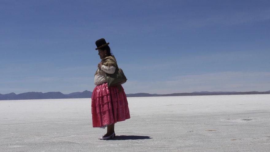 Bolivija Uyuni dykuma