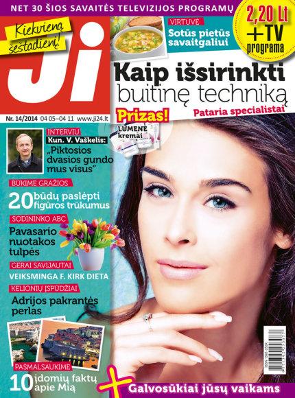 """2014 m. balandžio mėnesio žurnalo """"Ji"""" Nr. 14"""