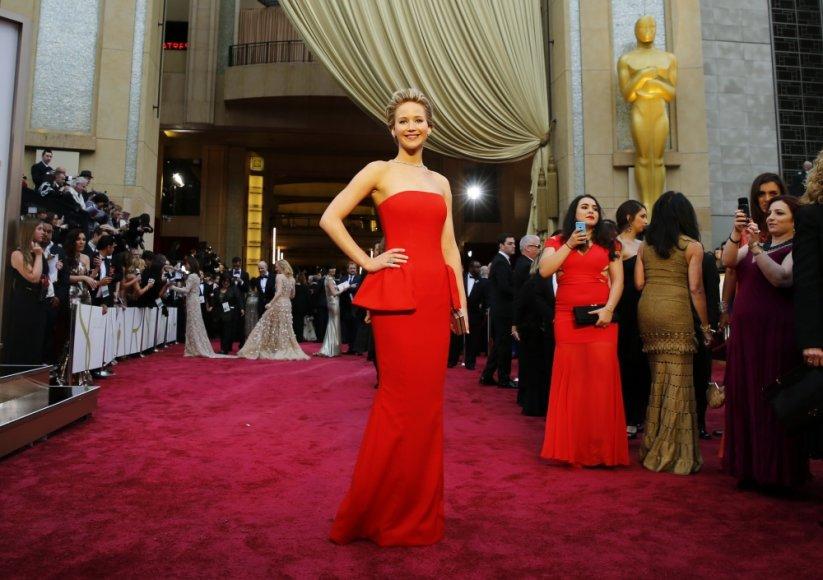 Nominantė Jennifer Lawrence
