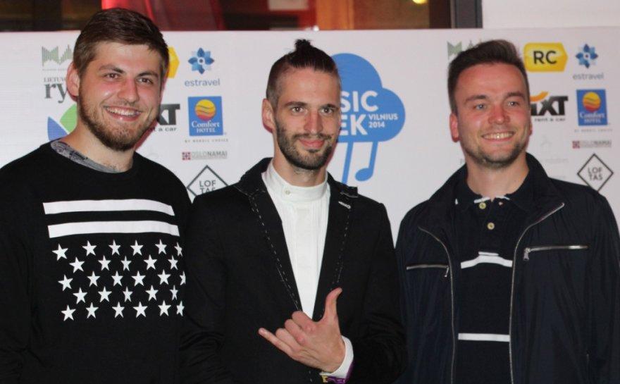"""""""Vilnius Music Week 2014"""" atidarymo vakarėlio akimirka"""