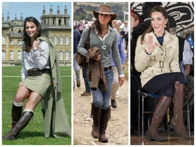 Kembridžo hercogienė Catherine 12 metų nešioja tuo pačius batus