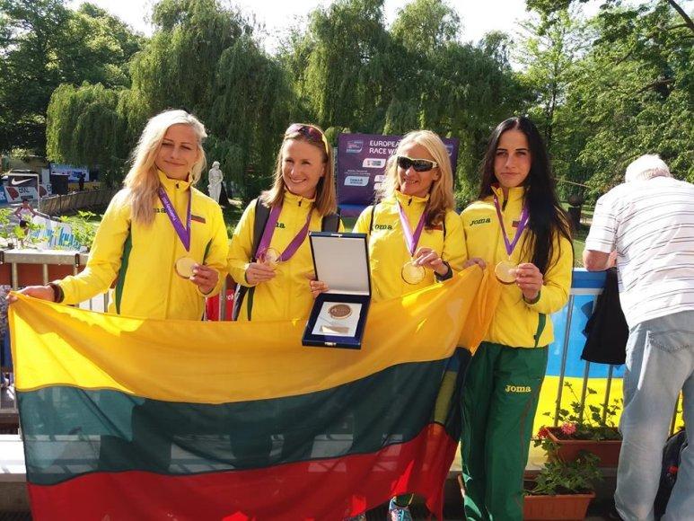 Živilė Vaiciukevičiūtė, Brigita Virbalytė, Kristina Saltanovič ir Monika Vaiciukevičiūtė
