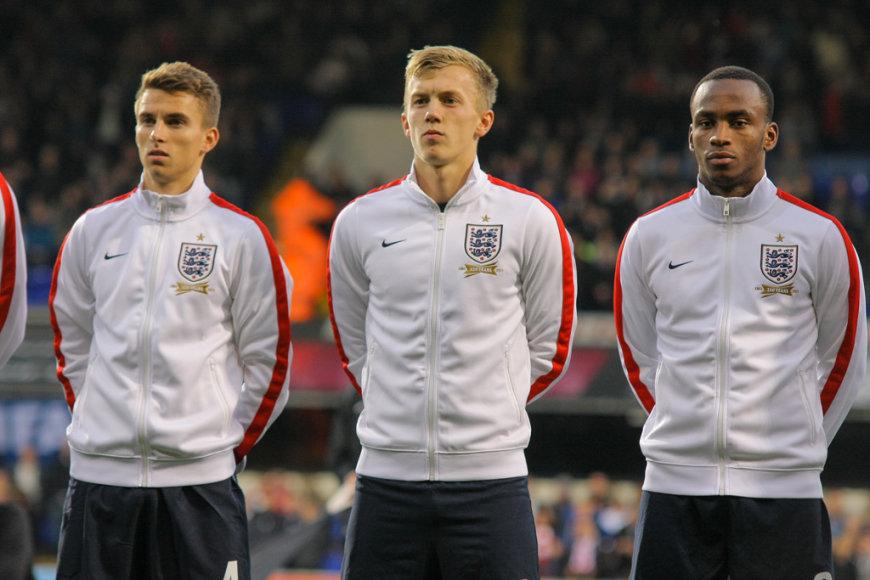 Anglijos U21 rinktinės futbolininkai
