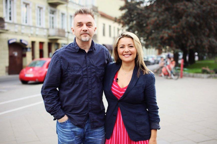 Andrius Mamontovas ir Beata Nicholson