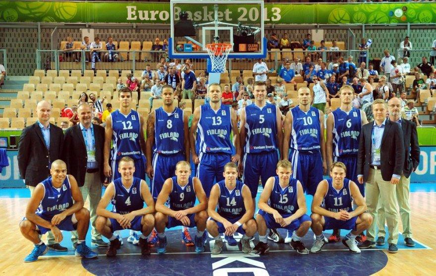 Suomijos krepšinio rinktinė