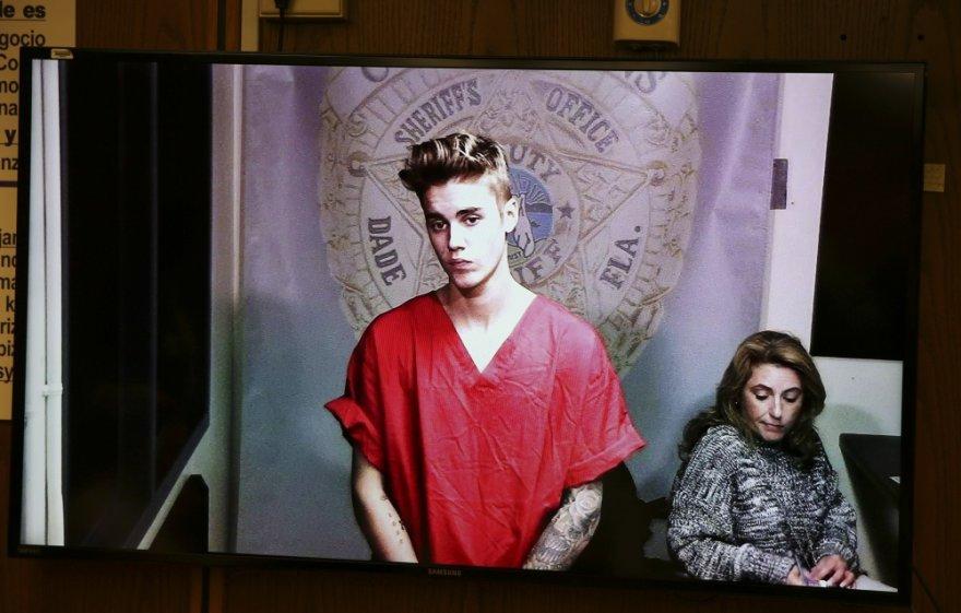 Justinas Bieberis teisme