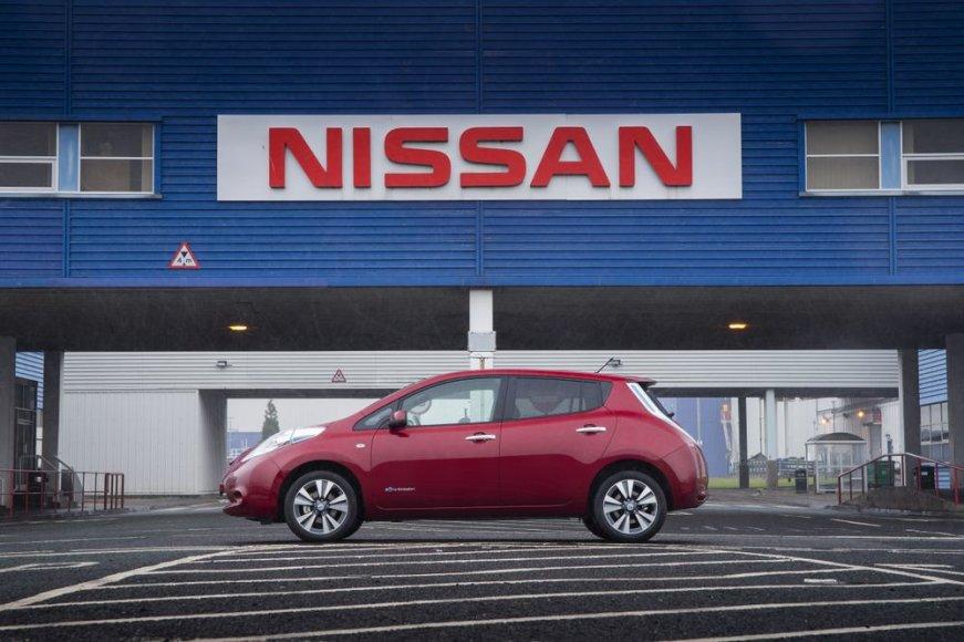 "Atnaujintas ""Nissan Leaf"""