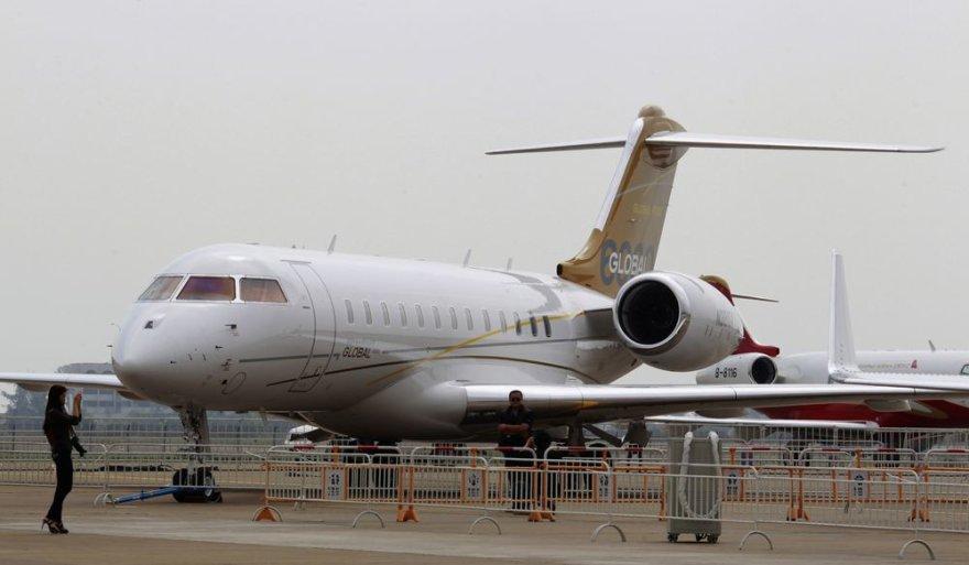 """Bombardier"" lėktuvas ""Global"""