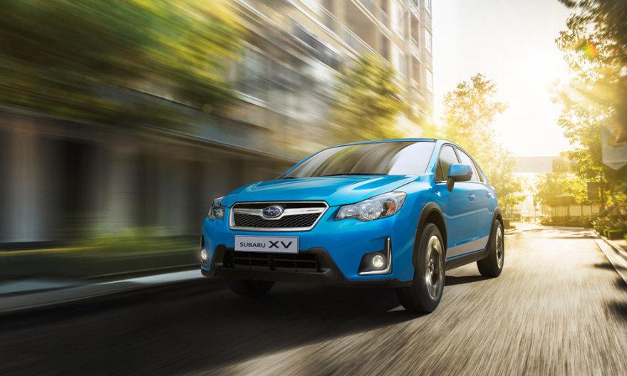 """Atnaujintas """"Subaru XV"""""""