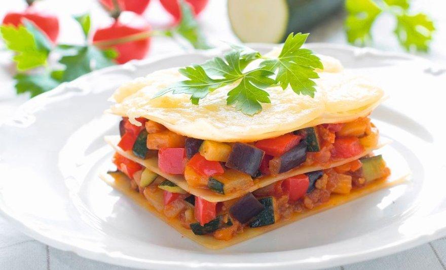 Lazanija su daržovėmis