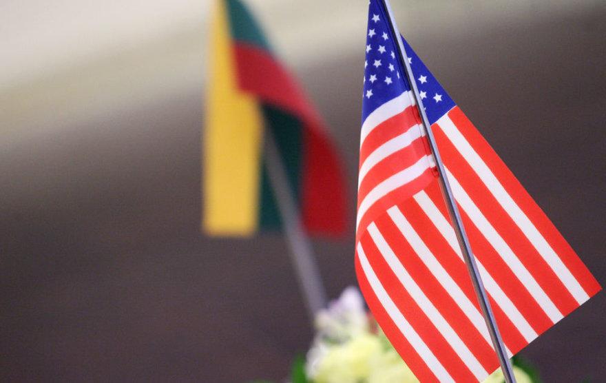 Lietuvos ir JAV vėliavėlės