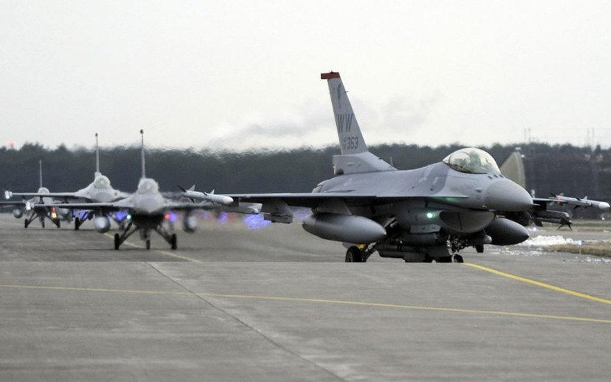 JAV naikintuvas F-16