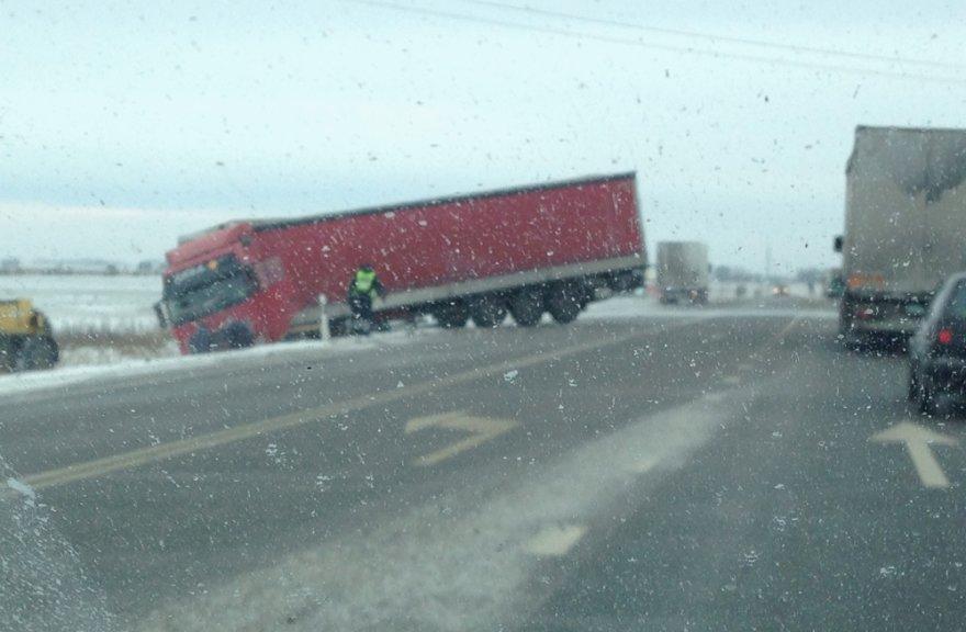 Sunkvežimio avarija