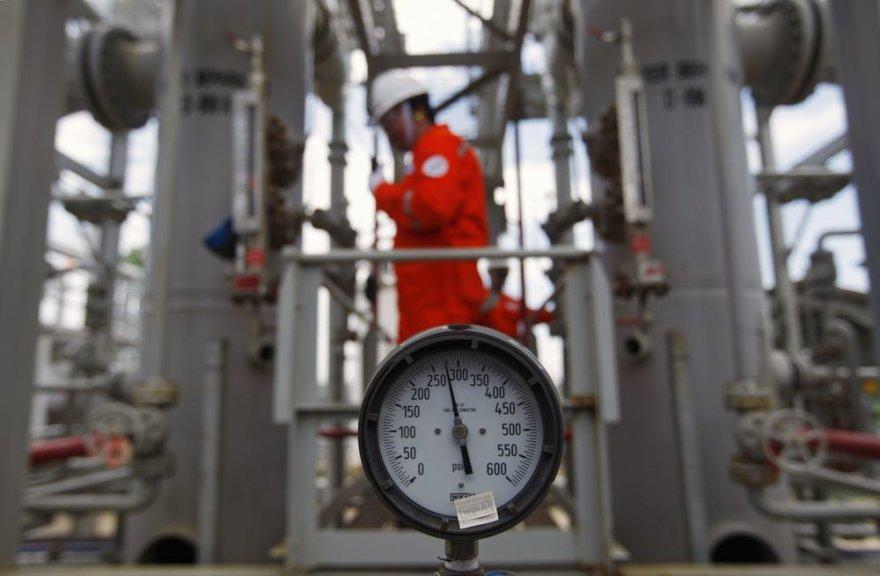 Naftos kompanijos darbuotojas