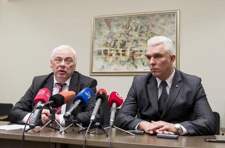 Dailis Alfonsas Barakauskas ir Žimantas Pocevičius
