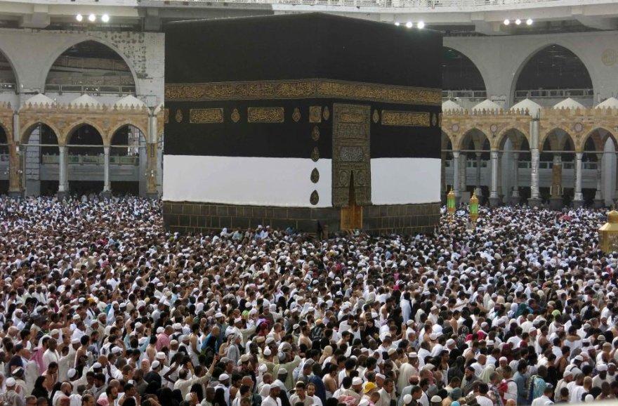 Musulmonai renkasi į tradicines hadžo apeigas