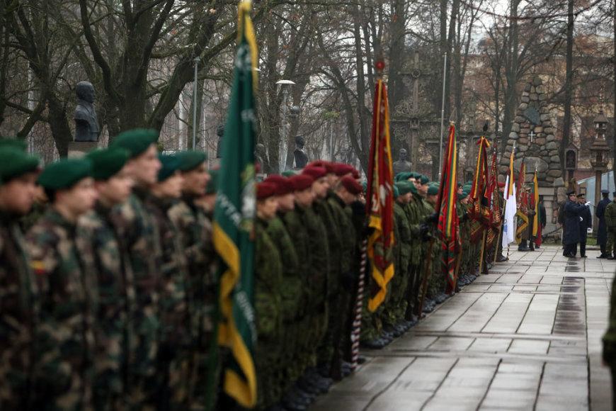 Lietuvos kariuomenės įkūrimo 95-osios metinės