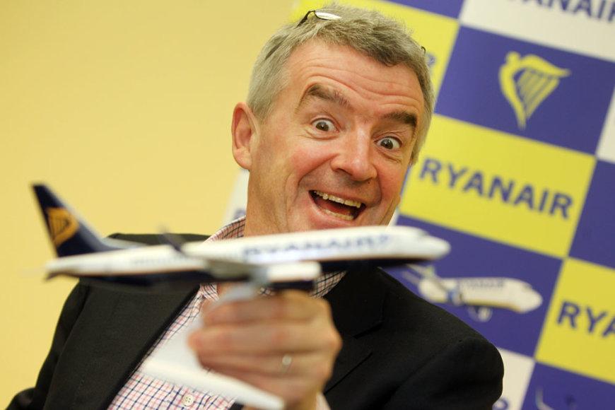 Ryanair paskelbia apie plėtrą Kaune
