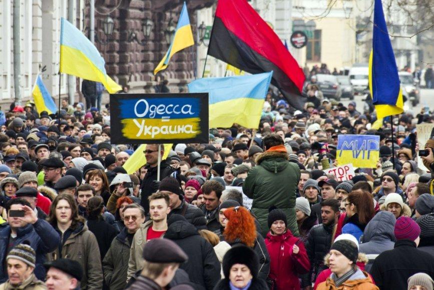 Mitingas Odesoje