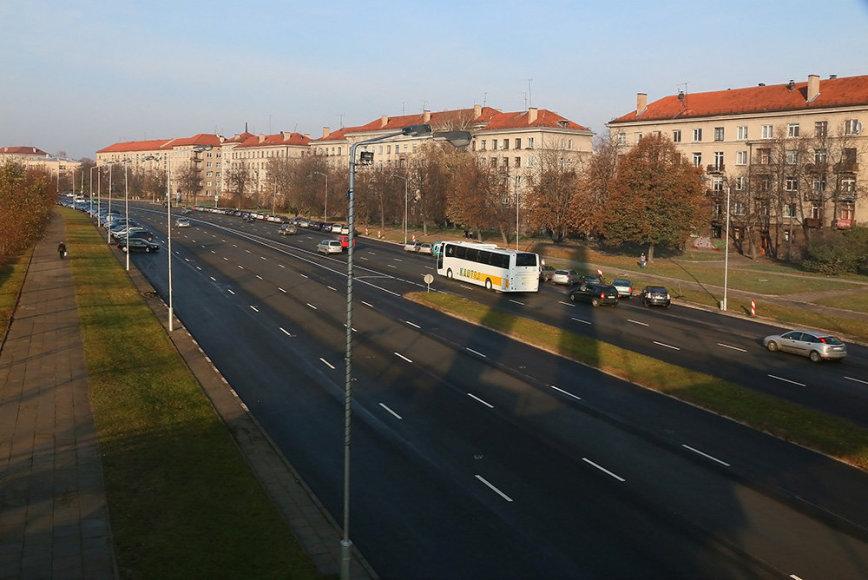 Užbaigtas vienos svarbiausių Kauno gatvių kapitalinis remontas