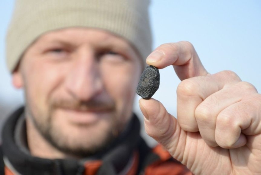 Čeliabinsko meteorito nuolauža